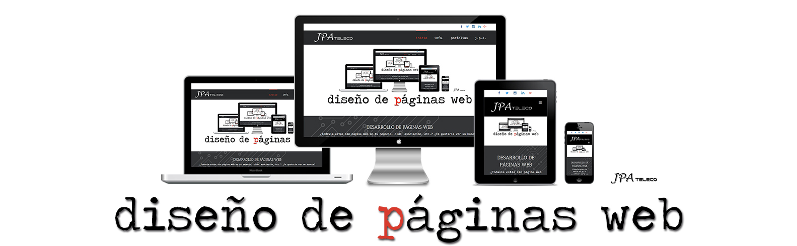 JPAteleco Diseño de páginas web